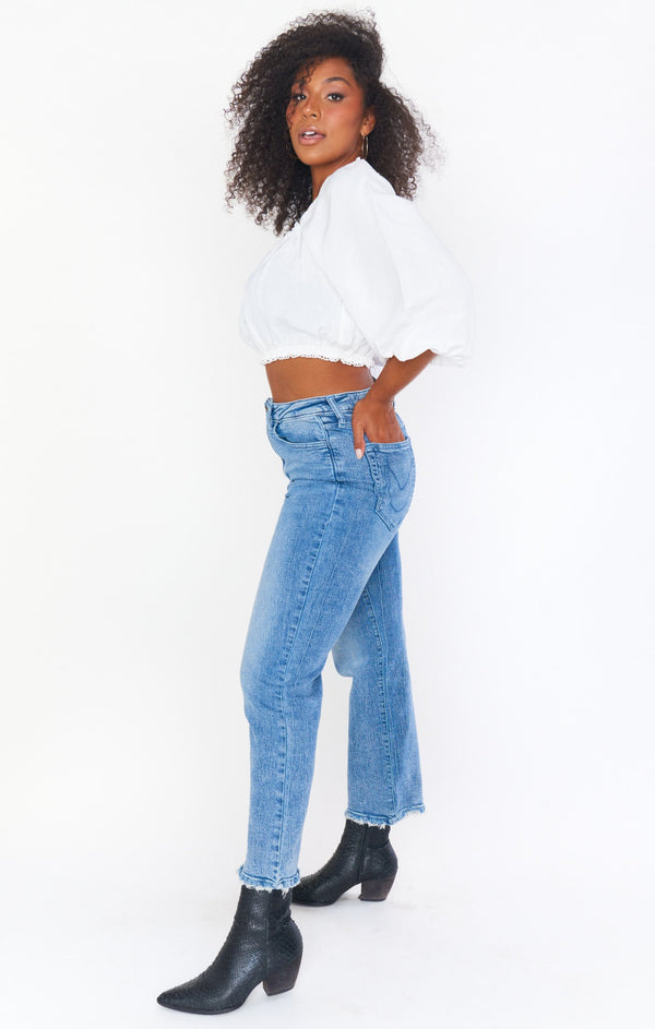Manhattan Straight Jeans