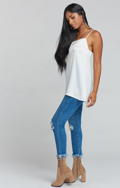 Soho Zip Up Skinnies
