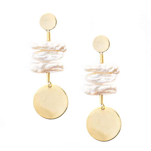 Peyton Pearl Statement earrings