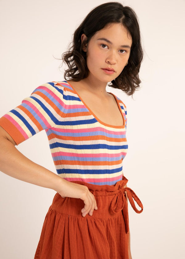 Nea Striped Tee