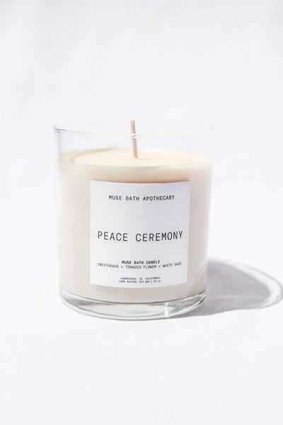 Peace Ceremony Candle