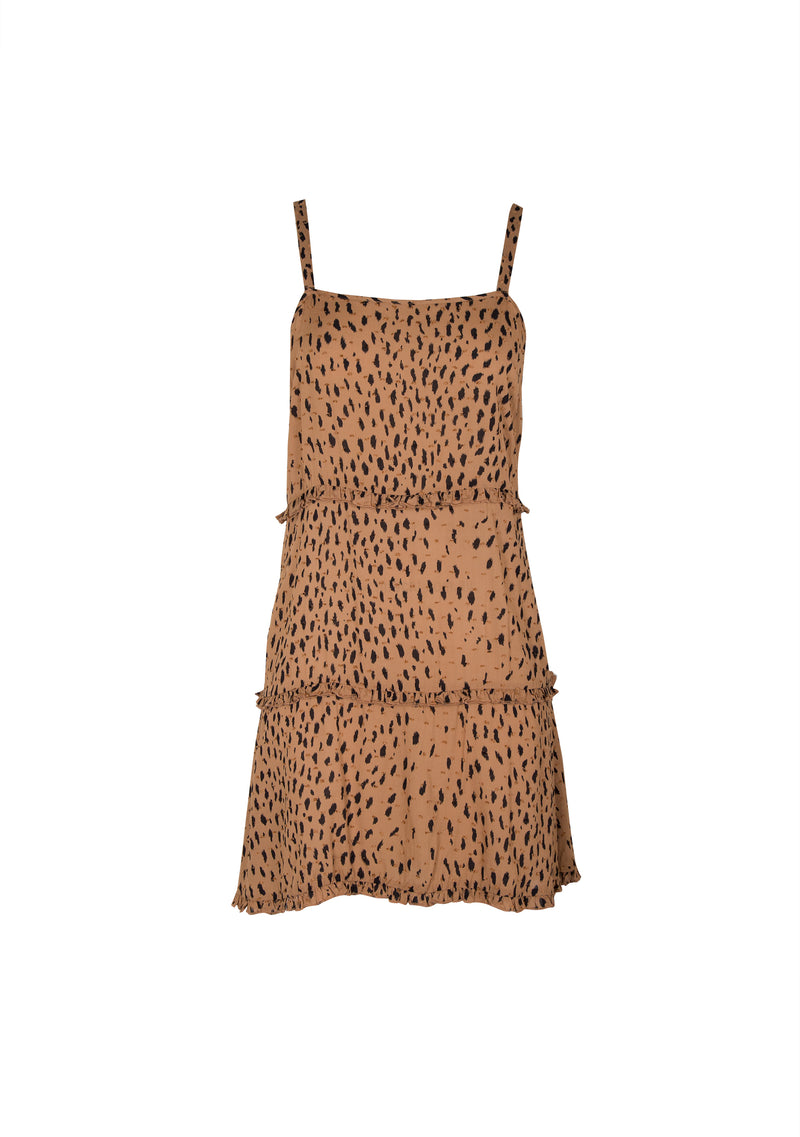 Safari Mini slip Dress