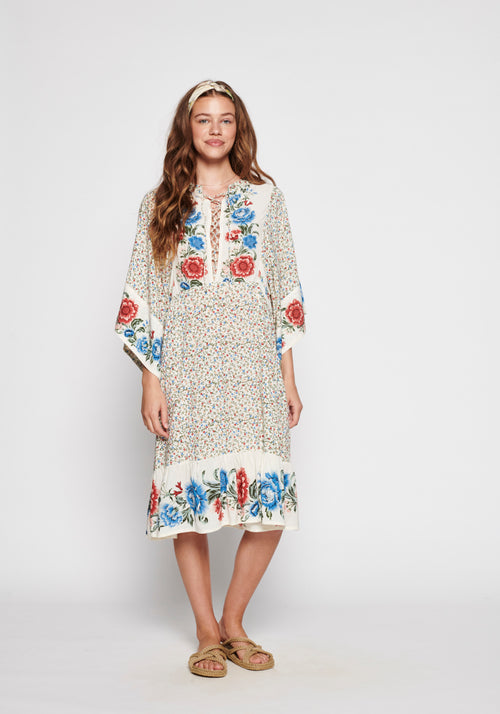 Rosalie Mae Sleeved Midi Dress