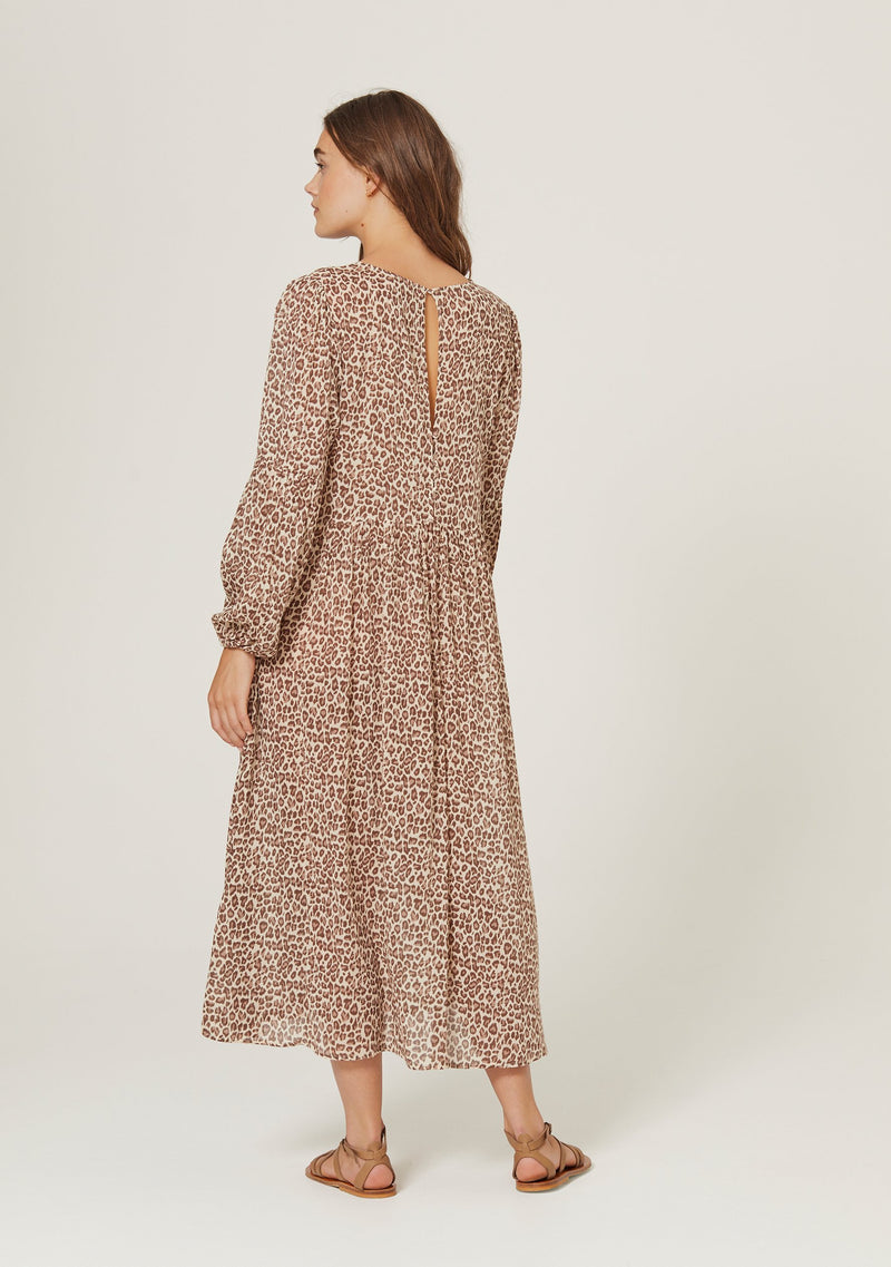 Nomad Helena Midi Dress Tan
