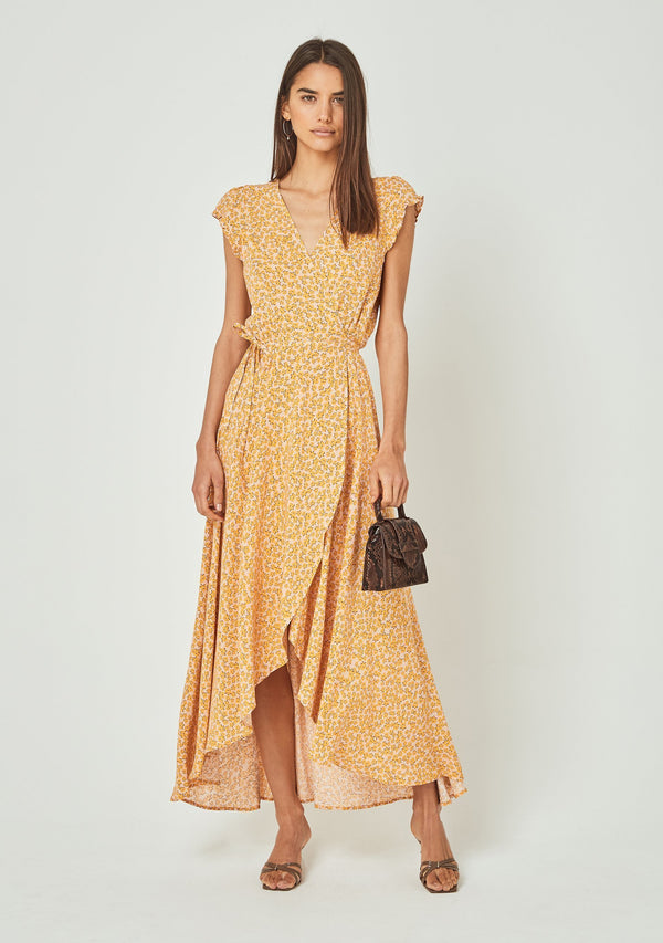 Dean Sierra Wrap Maxi Dress