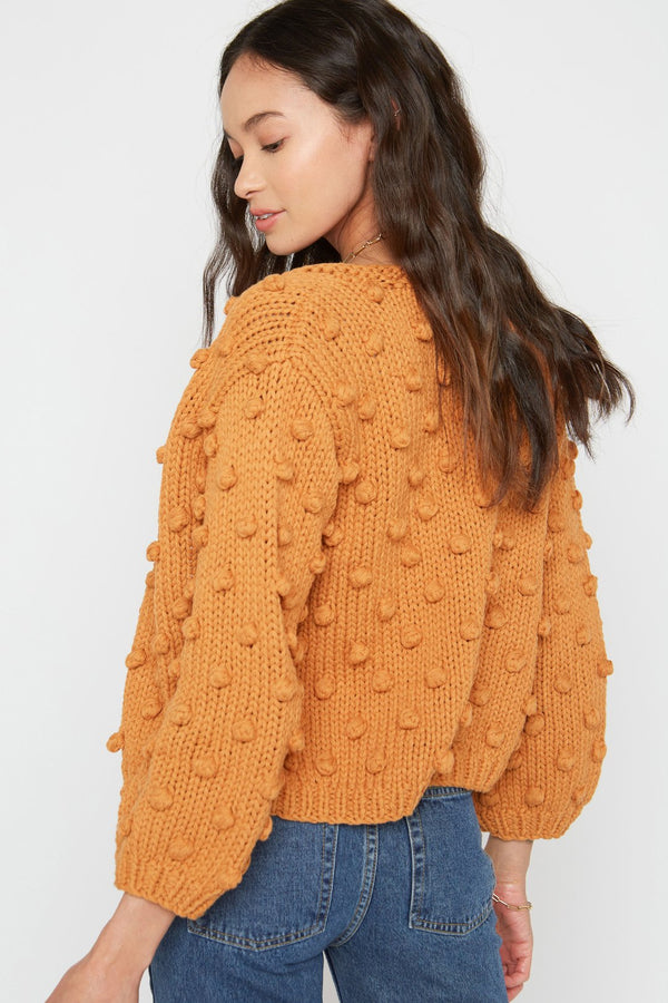 Rose Cardigan- honey