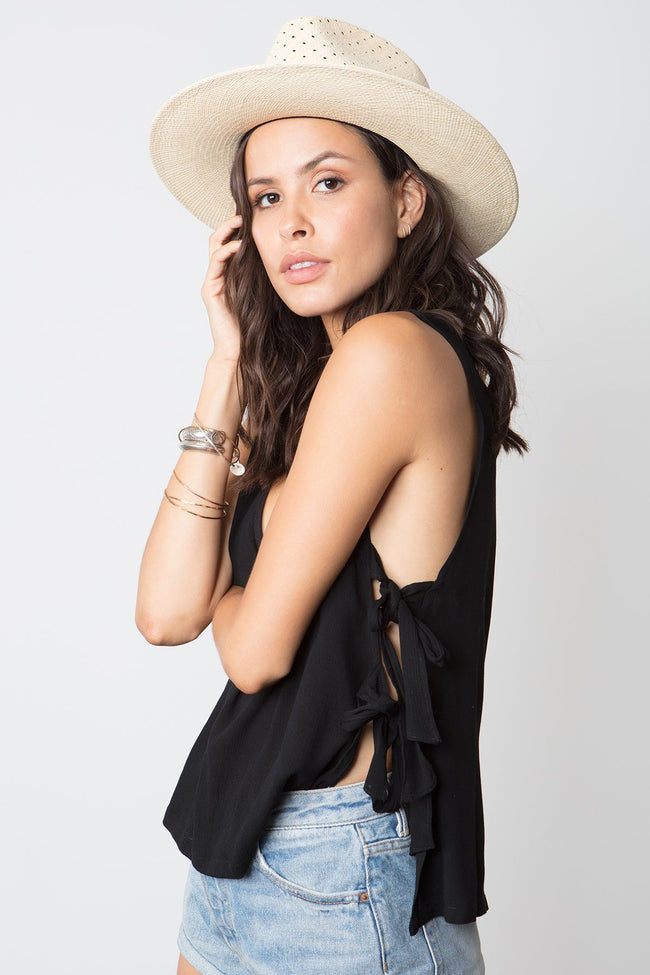 The Fawn Tie Top