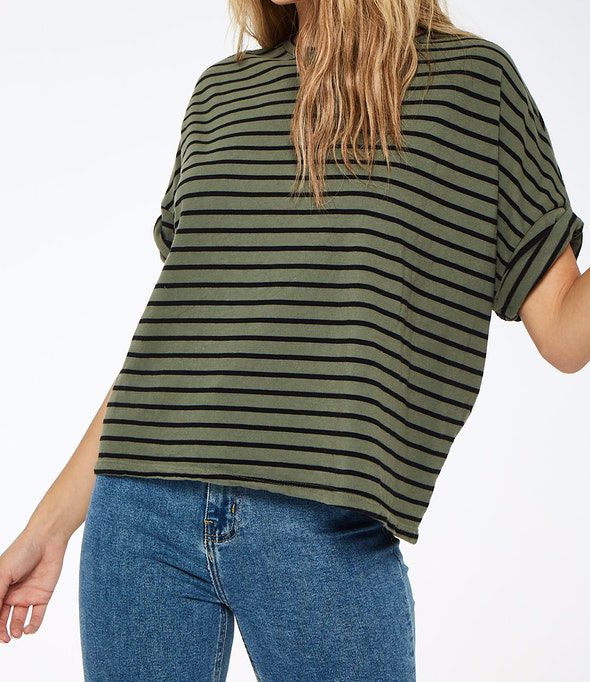 Madison Stripe Tee