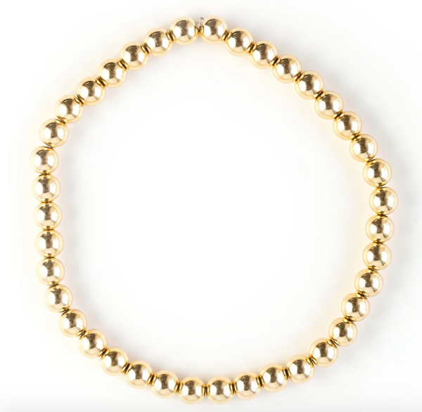 Gold Filled Stretch Bracelet