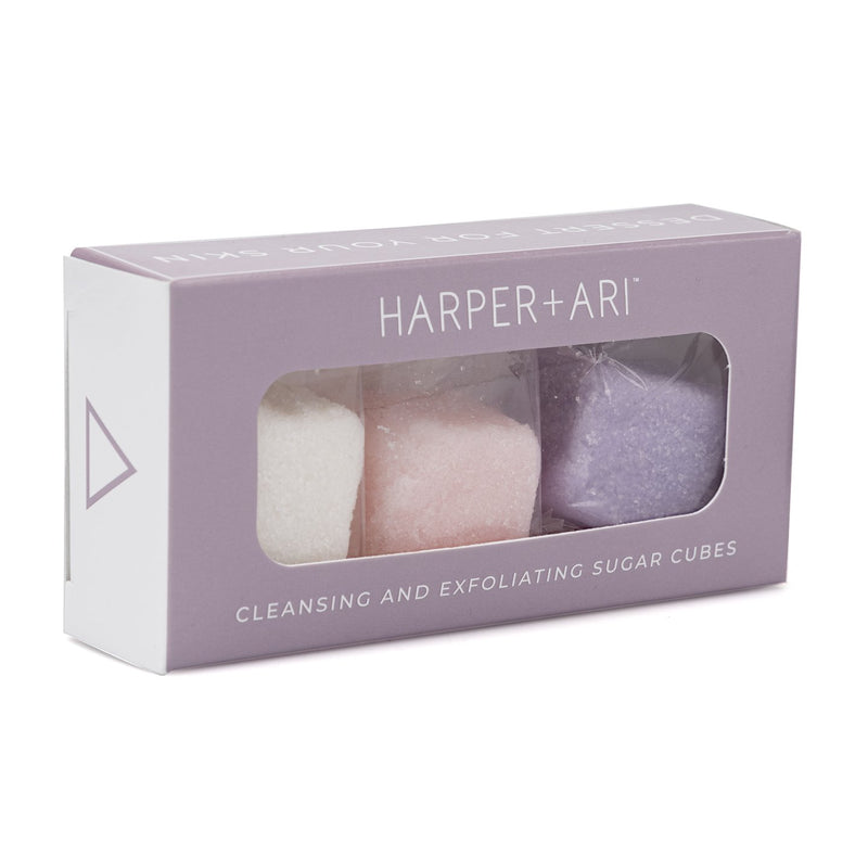 Mini Luxe Exfoliating Sugar Cubes Giftbox