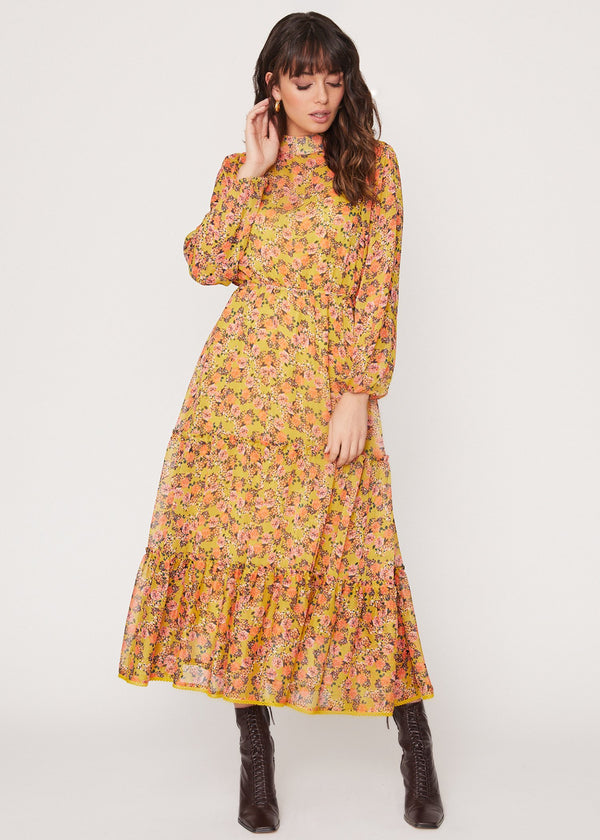 Gardens at Giverny Midi Dress