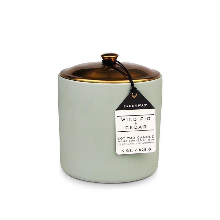 Hygge Candle- Wild Fig + Cedar