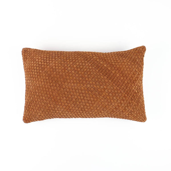 Socco Greenpoint Suede Leather Pillow