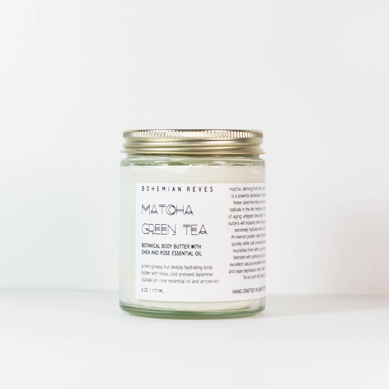 Matcha Green Tea Body Butter