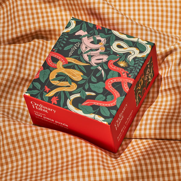 Snakes in the Garden Puzzle