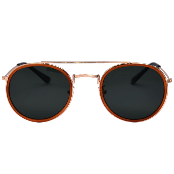 All Aboard Sunglasses I Caramel