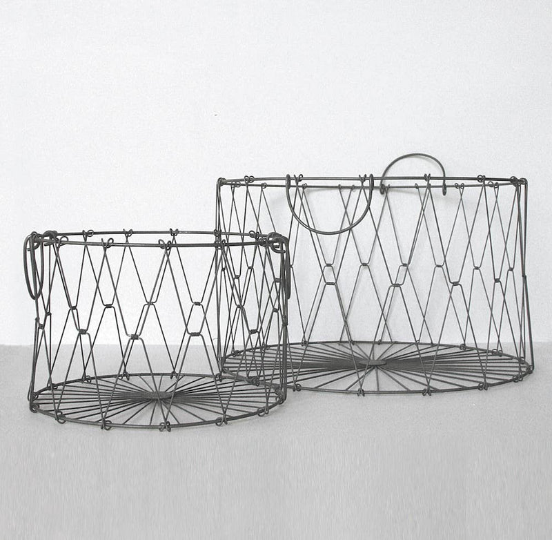 Collapsible Wire Basket Large