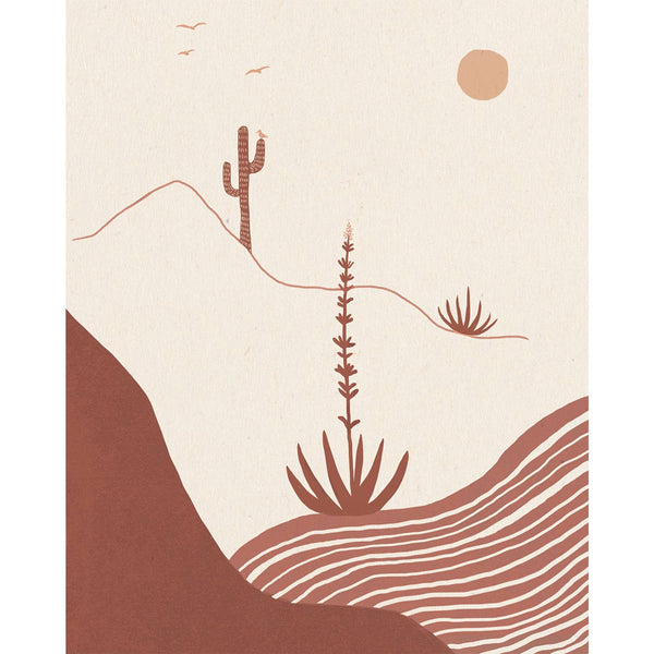 Desert Afternoon Wall Art