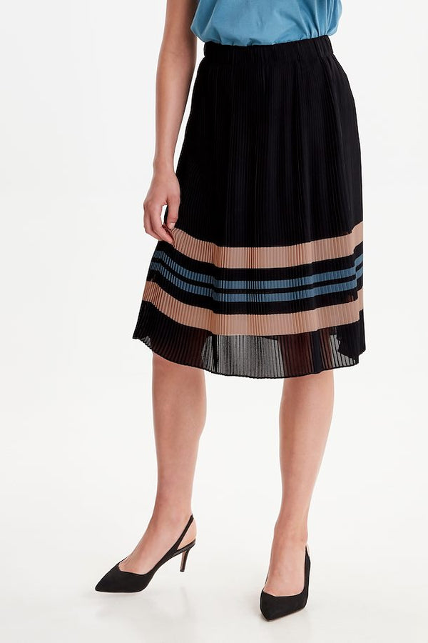 Carolina Pleated Midi Skirt