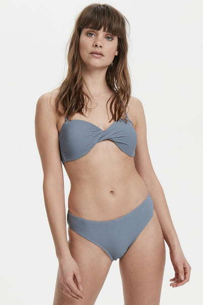Blue Mirage Swim Top