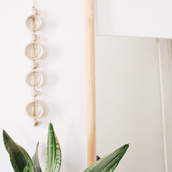 Ceramic Hoop Wall Hanging
