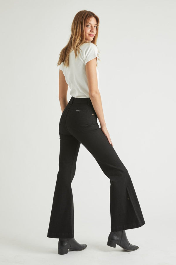 East Coast Boot Cut Jean I Galaxy Black