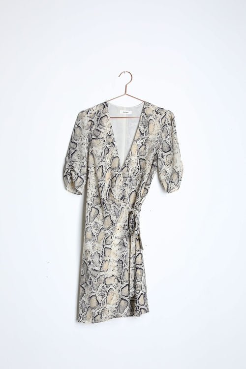 The Serpent Wrap dress