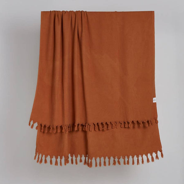 Vintage Wash Tobacco - Blanket