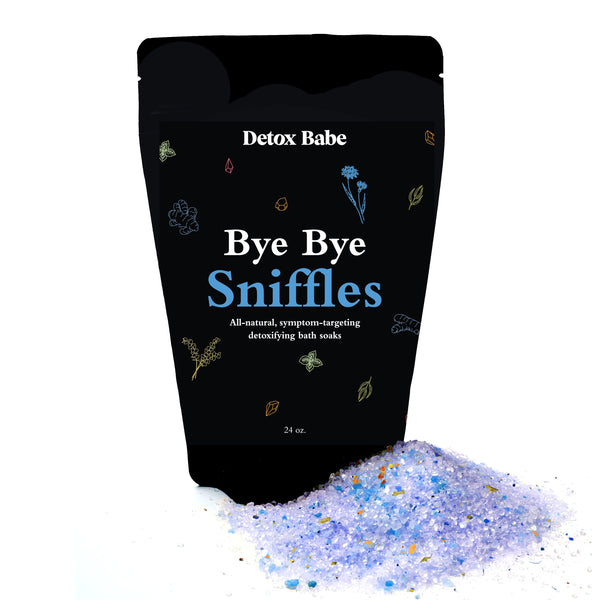 Bye Bye Sniffles All Natural Bath Soak