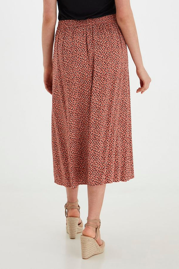Ditsy Dot Button up Midi