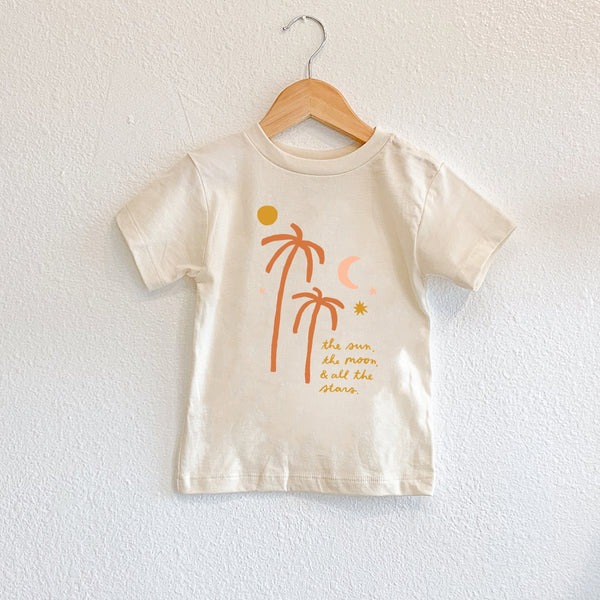 The Sun, Moon and Stars Toddler Tee