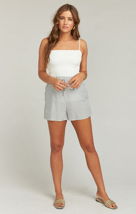 Coconut Kiss Mini Woven Skirt