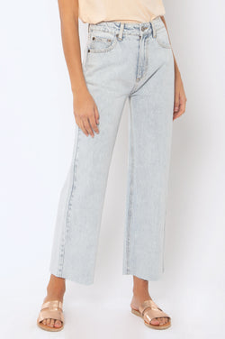 Gabi Crop- Sunfade Wash