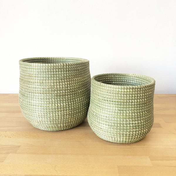 Honey Pot Basket - Sweetgrass