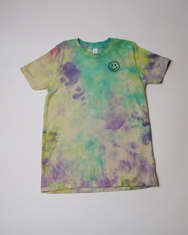 Tie Dye Smiley Tee I youth