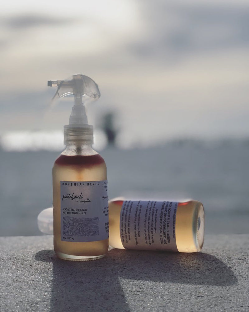 Patchouli Vanilla Sea Salt Texturizing Hair Mist