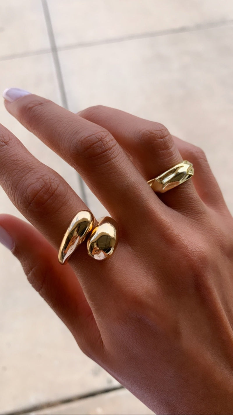 Iris Double Dome Ring
