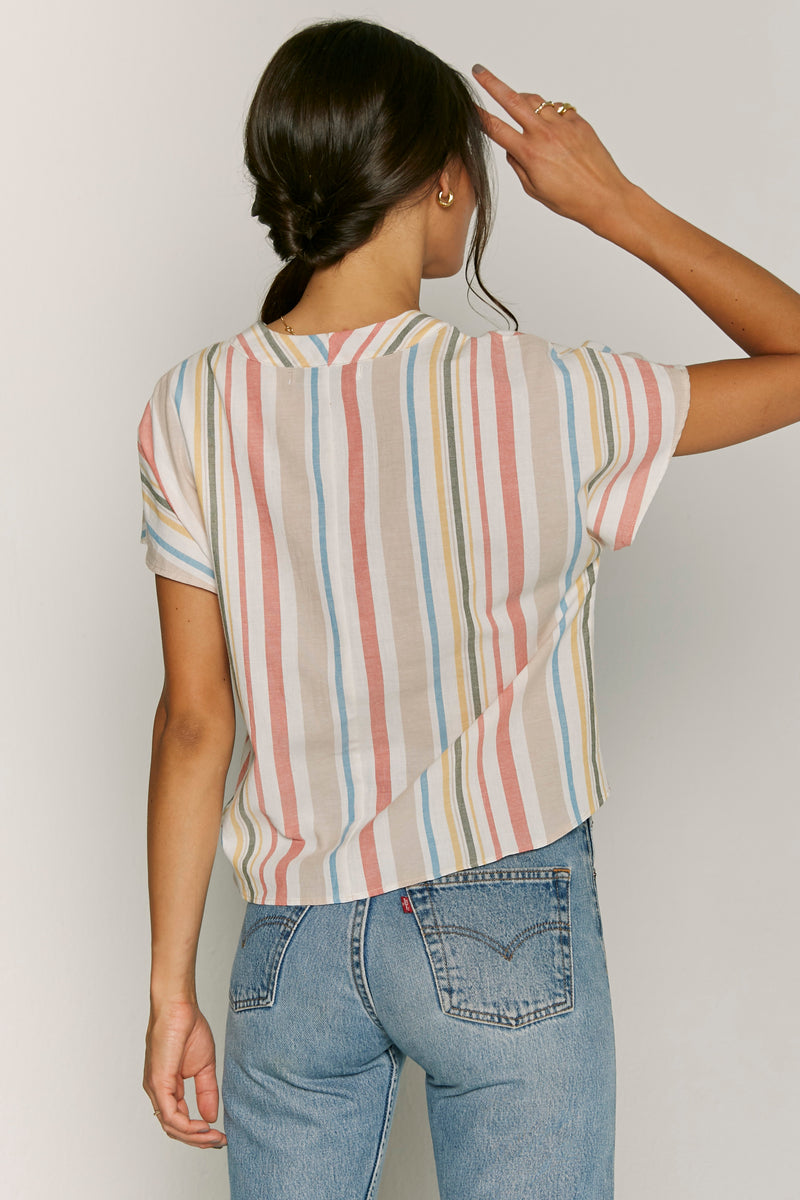 Jane Stripe Top