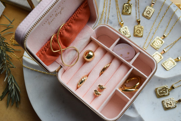 Take Me With You Jewelry Case I Pink
