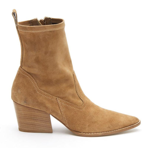 Flash Natural Sock Bootie