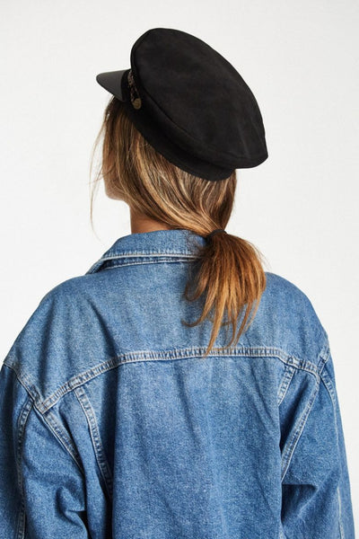 Leather Kayla Cap