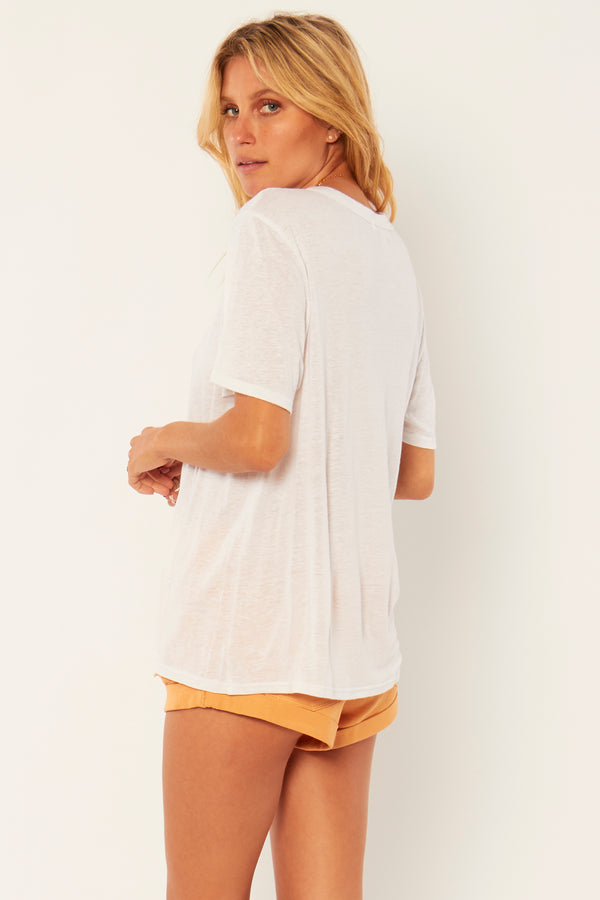 Lany Knit Top I white