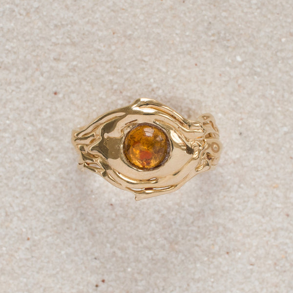 River Ring I Citrine