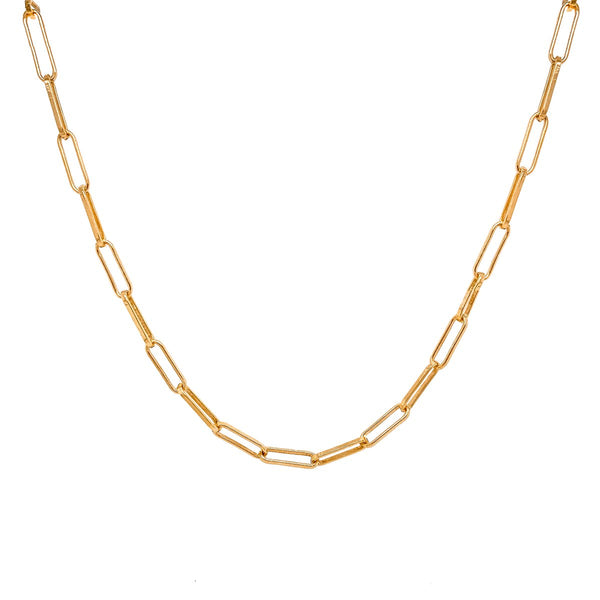 Charlie Paperclip Chain Necklace