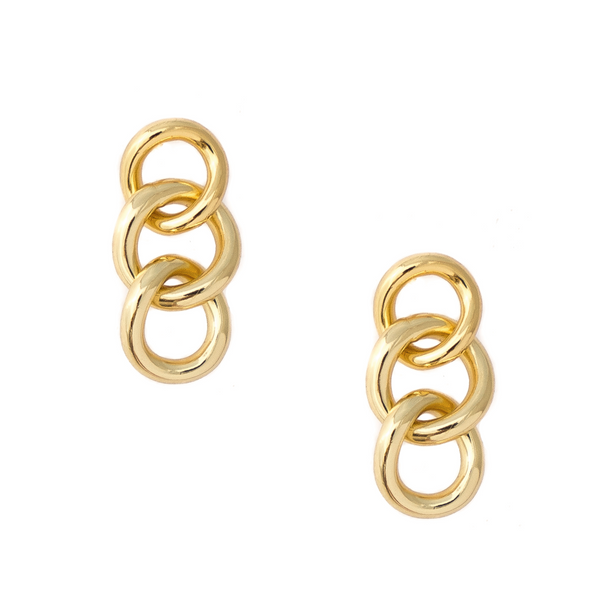 Demi Curblink Chain Earrings