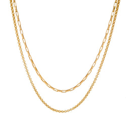 Eden Layered Chain Necklace