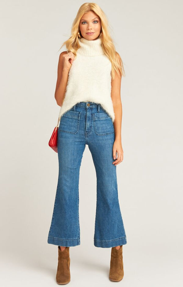 Cropped Farrah Trouser Stillwater