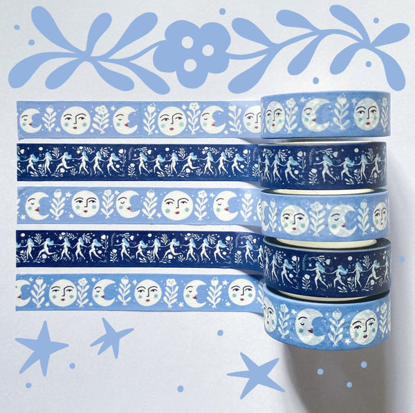 Midnight Dance Washi Tape
