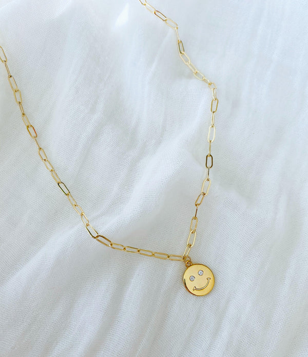 Starry Eyed Smile Necklace