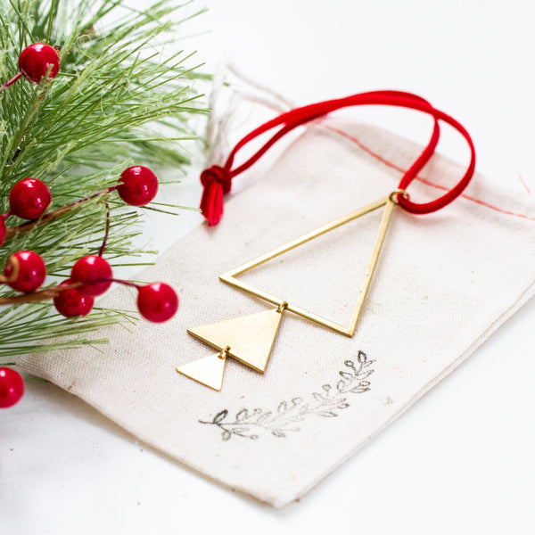 Christmas Brass Ornaments